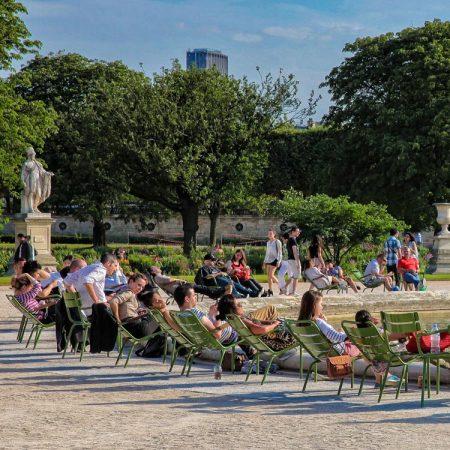 Jardin des Tuileries – tuinen bij het Louvre