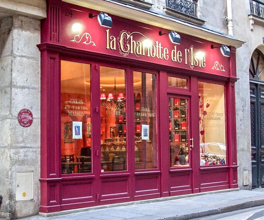 Charlotte de l'Isle Parijs